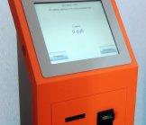 Оплата водителем плана через платежный терминал службы такси