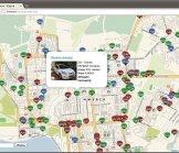Отображение всех водителей на карте