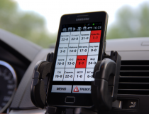 Мобильный терминал установленный в автомобиле